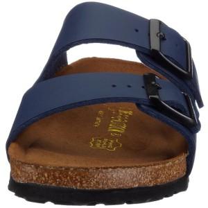 Frontale Sicht auf Birkenstock Schuh
